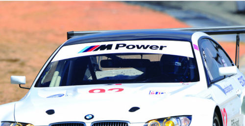 BMW M M3 M5 M6 Power Motorsport E36 E39 E46 E63 E90 Decal